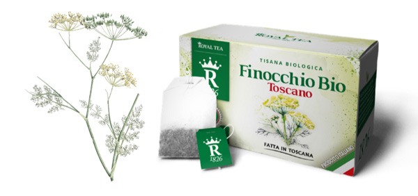 Tisana Finocchio Bio - Royal Tea